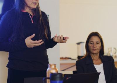 Deborah McGregor (left), Sue Chiblow (right)