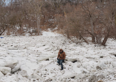 Humber River, February 9, 2019.