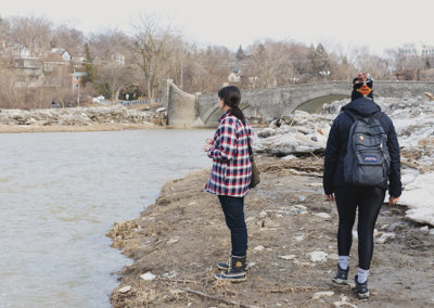 Humber River, March 20, 2019.